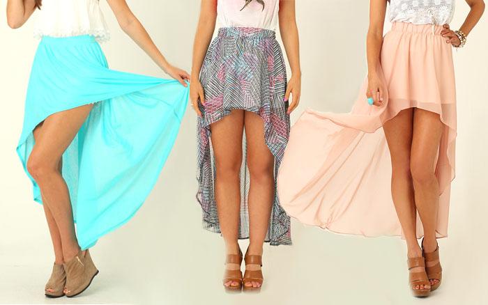 DIY Asymmetrical Dress