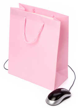 isolated-shopping-bag-mouse-pink