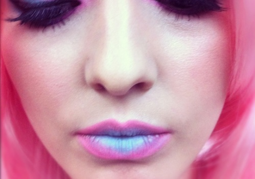 two tone lips 3