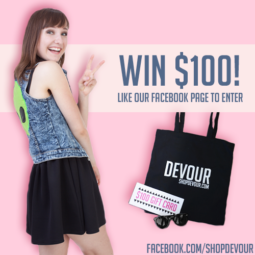 100 giveway with tote