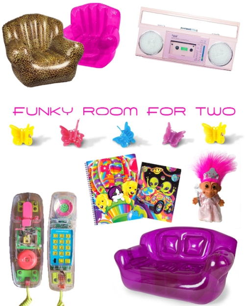 funky room for two